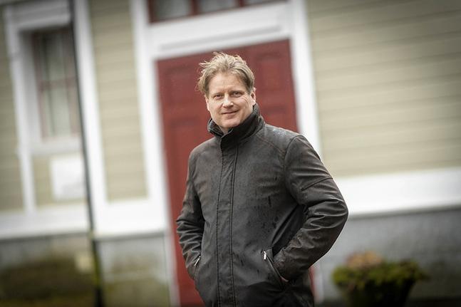 Janne Heikkilä är kyrkoherde i Korsnäs. Foto: Nicklas Storbjörk