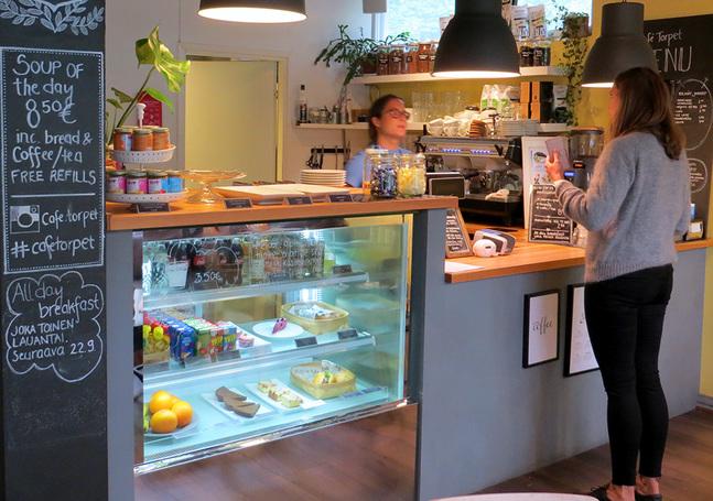 Café Torpet har beskrivits som ett vardagsrum där människor kan komma samman.