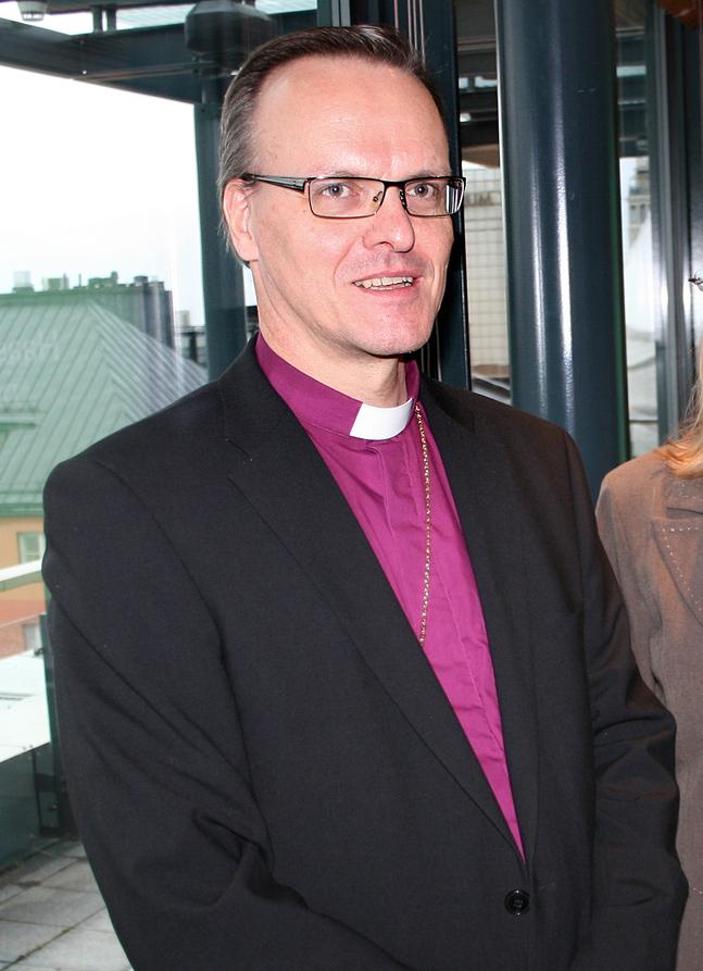 Tapio Luoma ställer sig till förfogande i ärkebiskopsvalet nästa år.