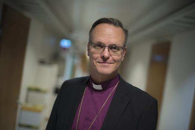 Tapio Luoma vann ärkebiskopsvalet i mars.