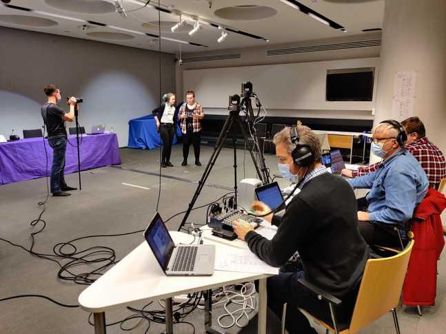 Ungdomens kyrkodagar 2021 arrangerades online. Programvärdar var Disa Sandholm och Tonje Lindeman.