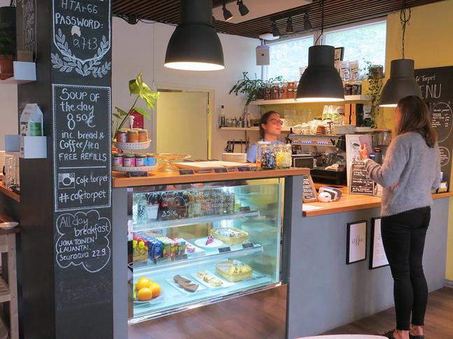 Café Torpet i Haga i Helsingfors har varit särskilt omtyckt bland barnfamiljer.