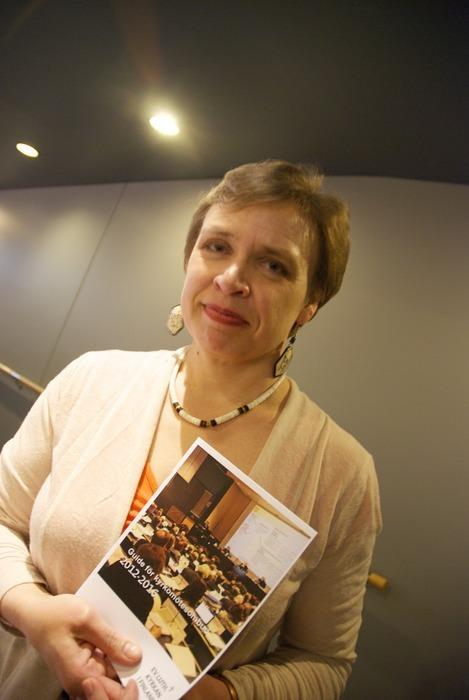 Åsa Westerlund sköter den svenska representationen i kyrkostyrelsens huvudorgan.