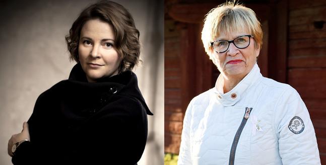 Mia Anderssén-Löf och Ulla-Maj Wideroos är nya ombud i kyrkomötet.