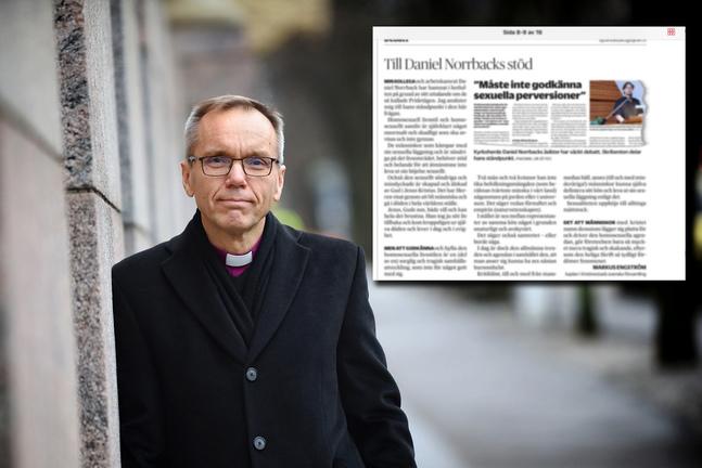 Björn Vikström vill utreda Engströms insändare.