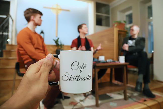 Att samtala i en kyrka är en signal om att också det omätbara ryms med – det som inte kan vägas, mätas eller göras statistik på.