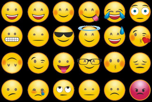 """Det finns idag över 3 000 emojier. Kyrkans kampanj vill komplettera utbudet med en symbol som förmedlar """"Jag förlåter dig""""."""