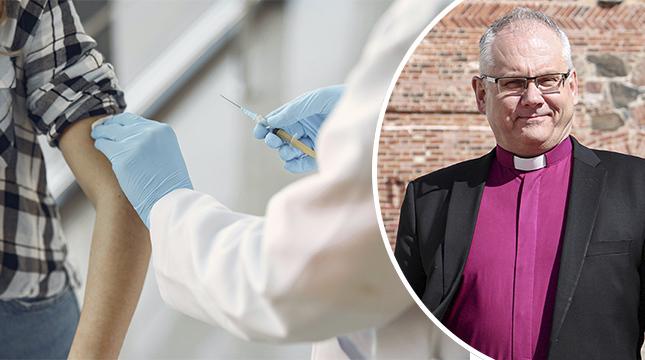 Bo-Göran Åstrand uppmanar den som ännu inte har låtit vaccinera sig noga fundera över sitt val.
