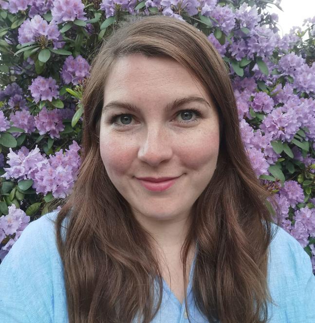 Christina Elving-Andersén jobbar som sakkunnig inom Kyrkan i Helsingfors.
