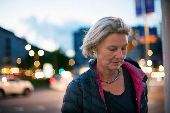 Majken Öst-Söderlund har inte låtit svåra upplevelser i barndomen prägla hela hennes liv.