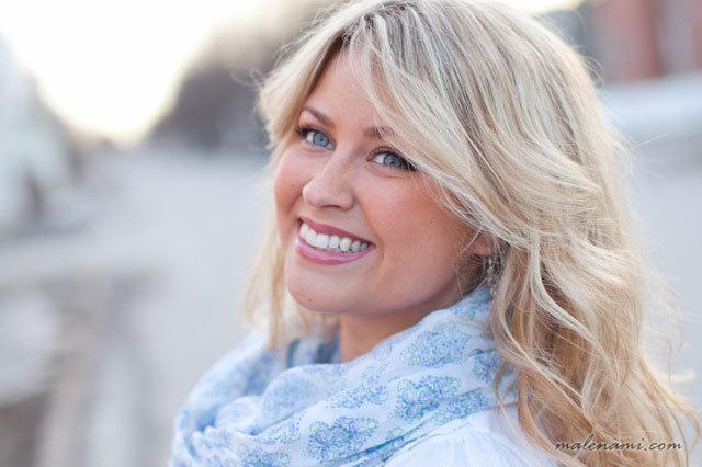 Malena Björndahl bloggar om till exempel inredning, mode och resor.