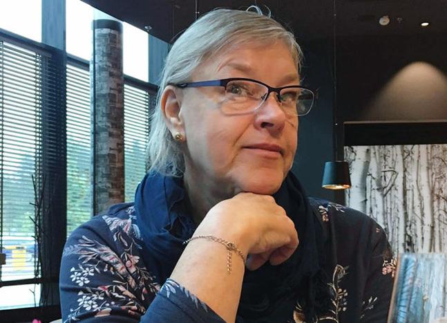 Nenne Lappalainen jobbar som projektarbetare med tyngdpunkt på diakoni i Johannes församling.