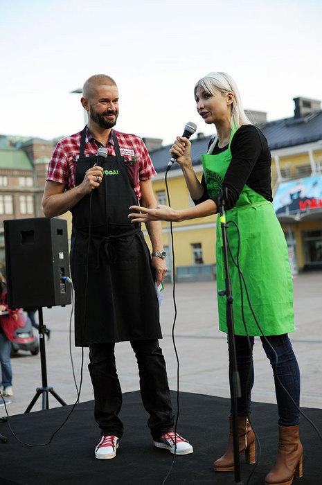 Selina Juul intervjuades av Marco Bjurström.