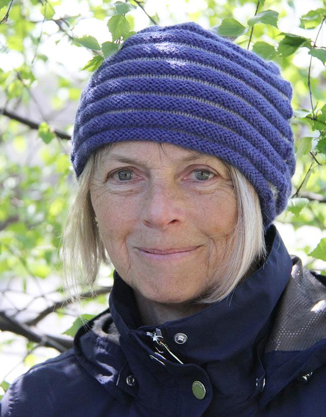 Rita Nordström-Lytz är ordförande för en över nittioårig fredsförening. Foto: privat