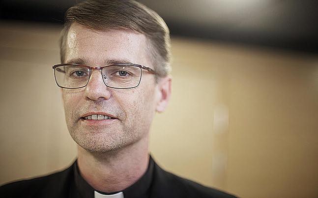 Johan Westerlund är kyrkoherde i Johannes församling.