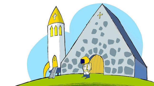 Kyrkans framtidskommitté har visionerat om hur kyrkan ser ut om 25-30 år. Vi bad Wilfred Hildonen teckna sin egen framtidsvision.
