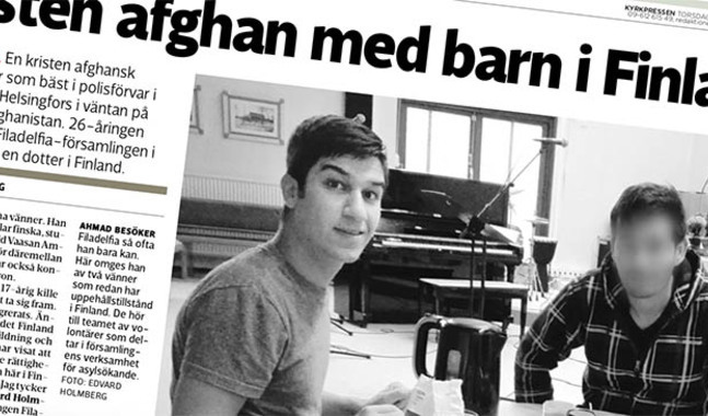 Kyrkpressen skrev om Ahmad i nummer 45/2107.
