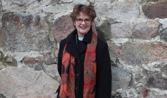 Lisa Enckell är kandidat i biskopsvalet.