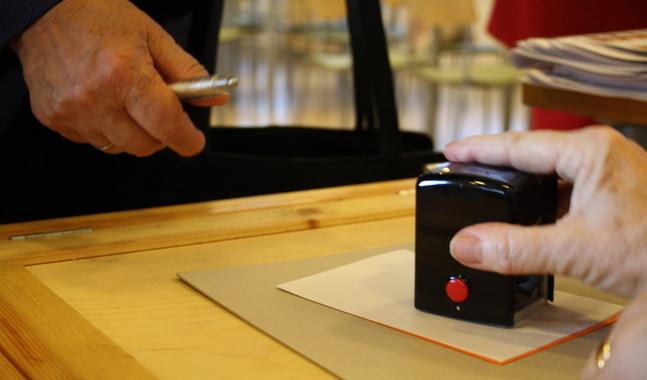 Valet arrangerades traditionellt, men allt innan dess pågick virtuellt.